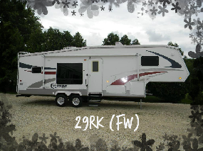 Fifth wheel Cruiser Crossroad 29RK - Négociable