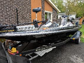 Ranger Bass Boat  2013