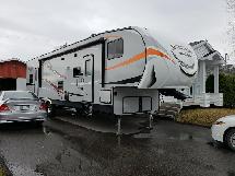 2017 KZ RV Sportster 331TH12 cargo