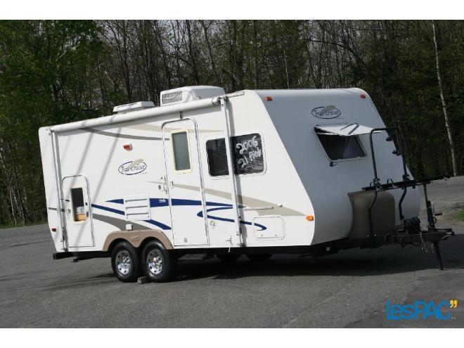 Roulotte Trail-Cruiser TC-21DBL 2006 à vendre