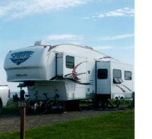 Caravan a selette palomino à vendre 2011