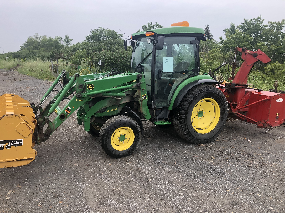 Tracteur 4066R John Deere 2017
