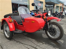 Ural Tourist LX With Sidecar 2013