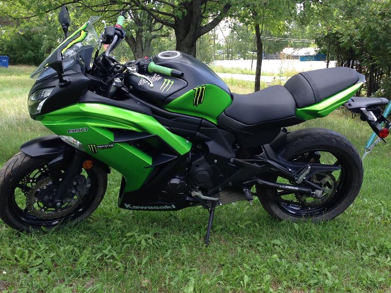 Moto tourisme Kawasaki Ninja 2013 à vendre