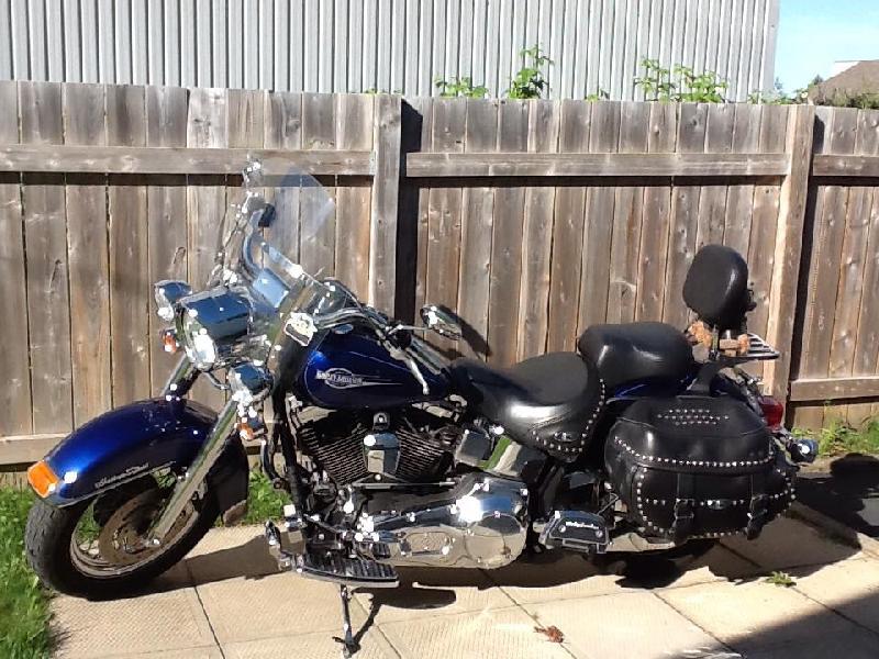 Moto Harley-Davidson FLSTC Heritage Softail Classic 2006 à vendre
