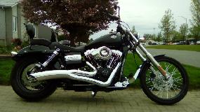 Harley Davidson FXDWG Dyna Wide Glide 2012
