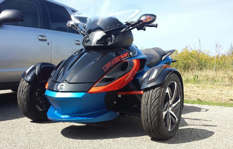 Spyder RS-S 2015 à vendre