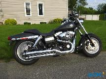 Moto Harley Davidson Fat Bob Dyna 2010