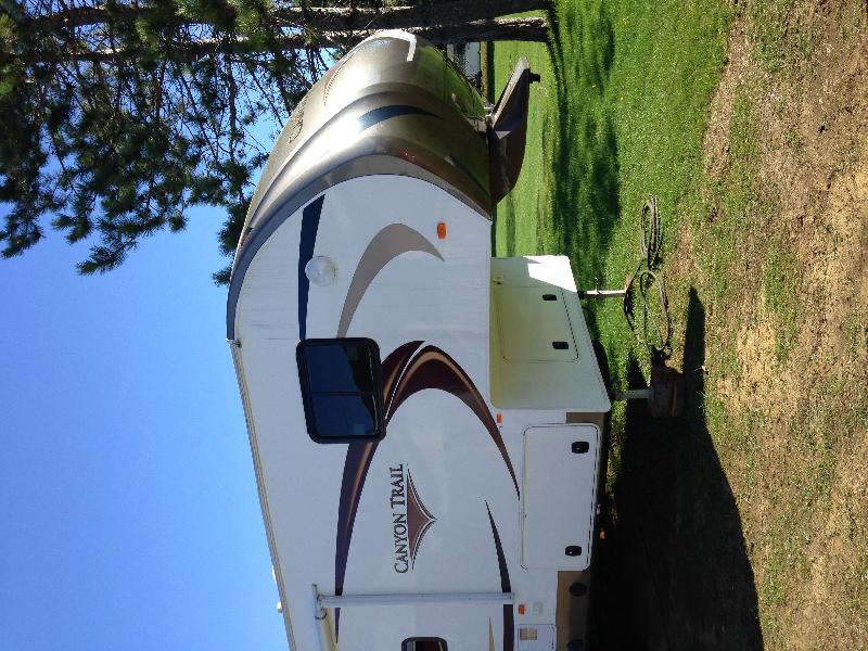 Caravane à sellette Canyon Trail  2013 à vendre