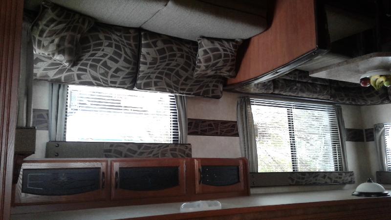 Roulotte Wildwood 29BHBS 2013 sur terrain saisonnier Camping du Lac Dô à vendre