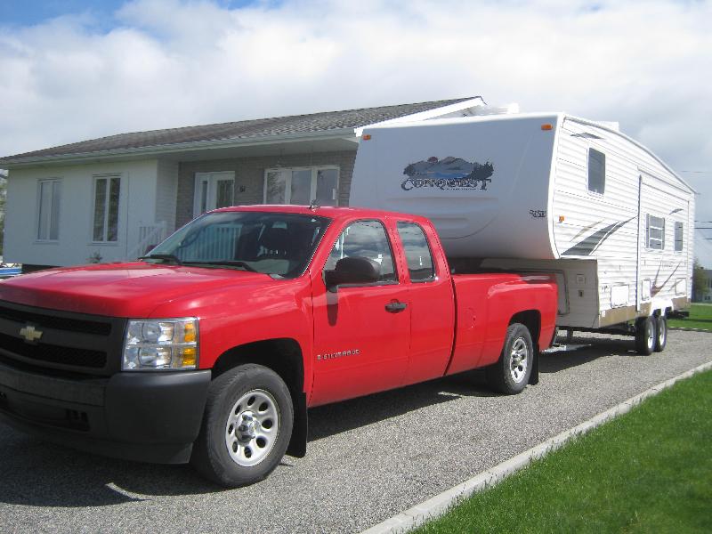 Caravane à sellette Conquest  2005 à vendre
