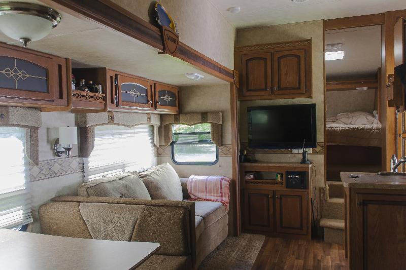 Caravane à sellette Sabre Silhouette  2012 à vendre