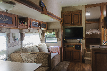 Sabre Silhouette par Palomino 260 BHS fifth wheel 2012