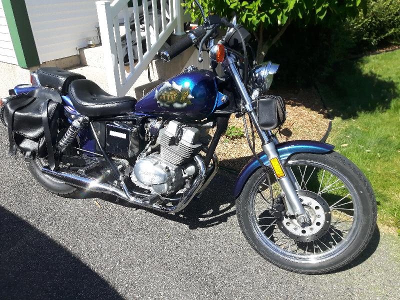 Moto Honda Rebel 1985 à vendre