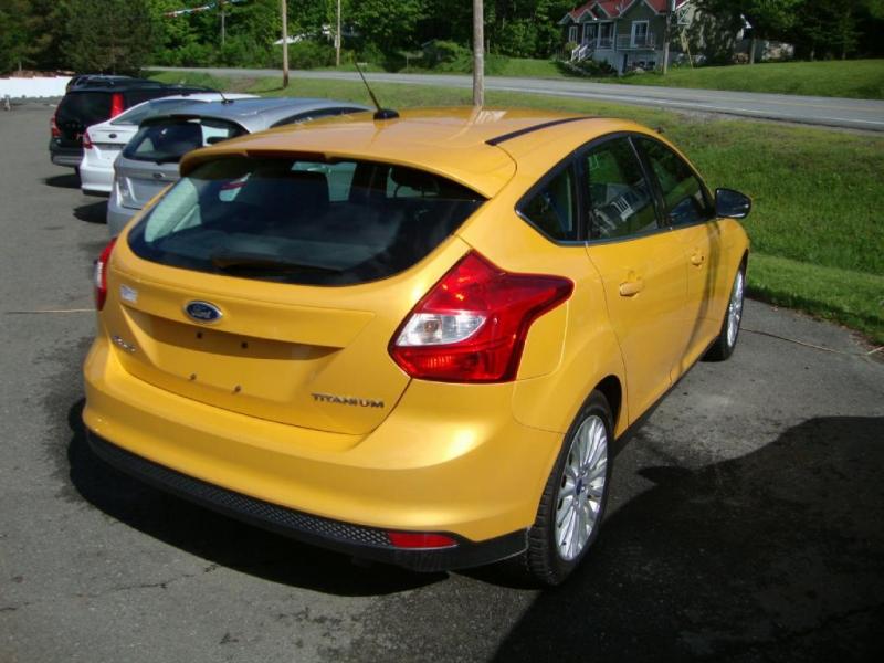 Ford Focus Titanium 2012 à vendre