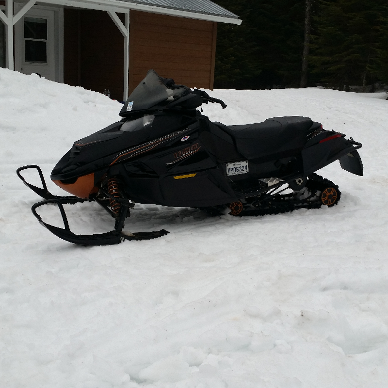 Motoneige Arctic Cat TZ1 TURBO 2009 à vendre