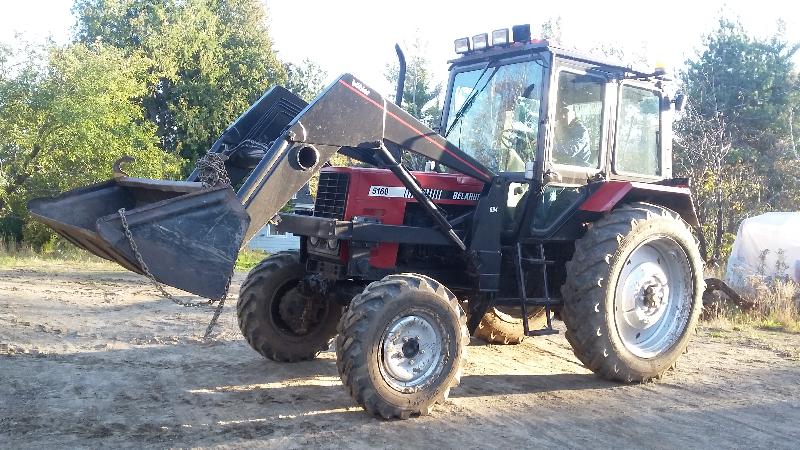 Tracteur et excavatrice Belarus  1995 à vendre