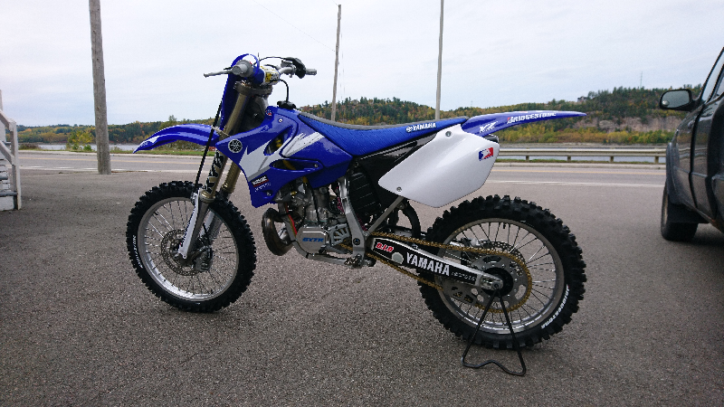 yz 250 vendre chicoutimi moto motocross. Black Bedroom Furniture Sets. Home Design Ideas