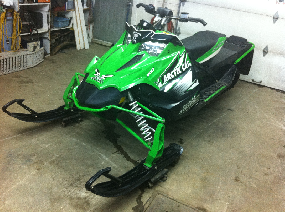 Sno pro 500 2010 injection extra clean