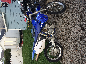Yamaha wr 250 2003 4 temp enduro