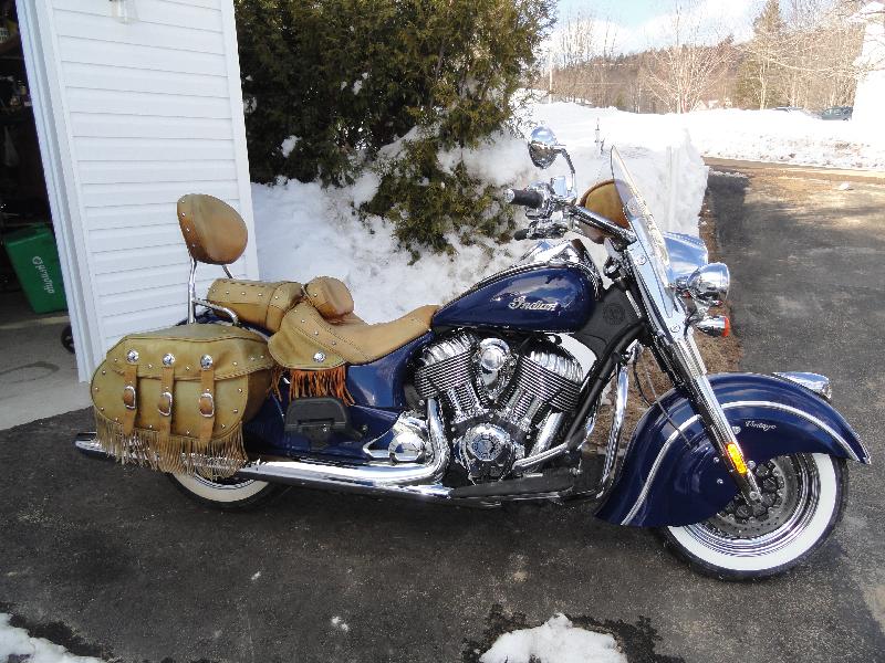 Moto tourisme Indian Motorcycles Chief Vintage 2014 à vendre