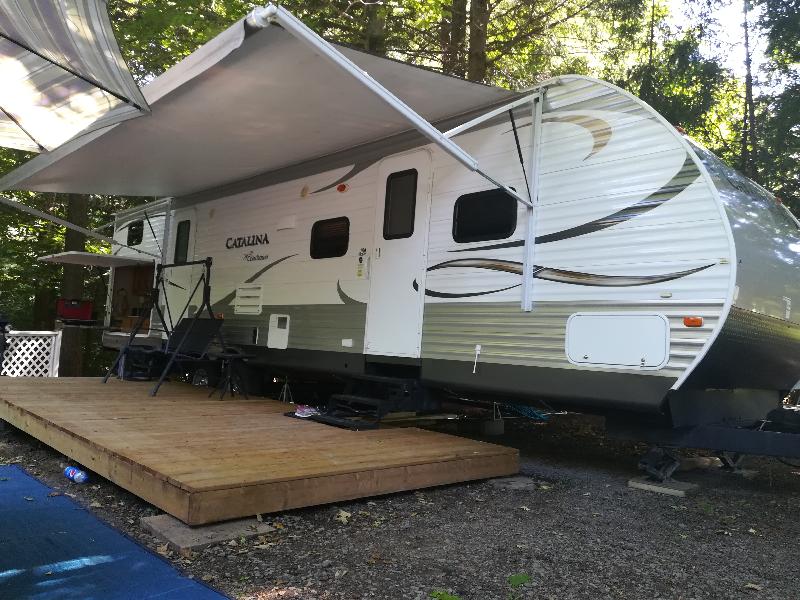 Roulotte Forest River Catalina 323BHDSCK Legacy Edition 2014 à vendre