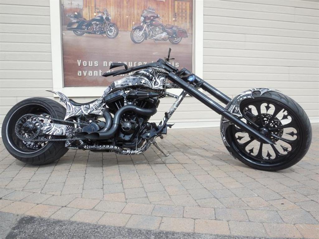 Moto routière/cruiser Harley-Davidson  2014 à vendre