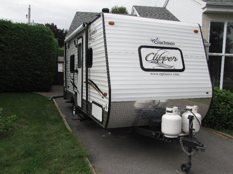 Roulotte Clipper 17FQ 2015 à vendre