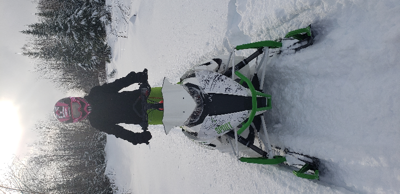 Motoneige de montagne Arctic Cat M 8000 Sno Pro (153) 2.6 2015 à vendre