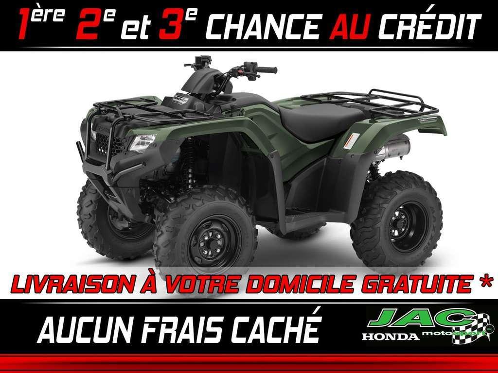 VTT Côte-à-côte Honda TRX420 RANCHER 2018 à vendre
