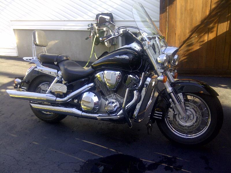 Moto routière/cruiser Honda VTX1800 2002 à vendre