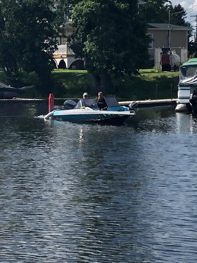 Bateau de pêche Cajun Boats/Mastercrafter  1991 à vendre