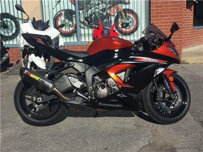 Moto sport Kawasaki Ninja 2014 à vendre