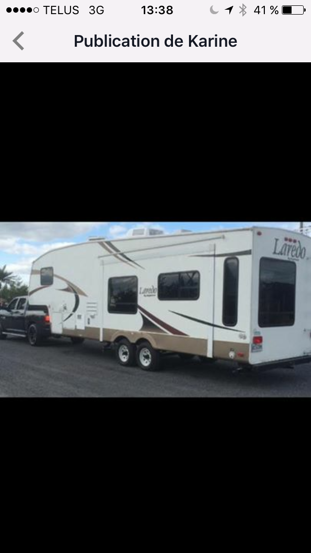 Caravane à sellette Keystone RV Laredo 29RL 2006 à vendre