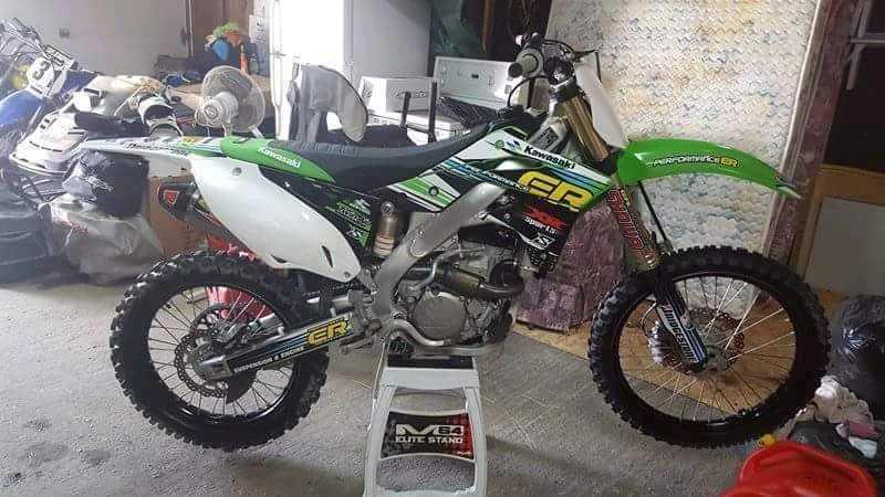 Motocross Kawasaki KX250F 2014 à vendre