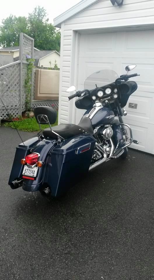 Moto routière/cruiser Harley-Davidson FLHX 2009 à vendre
