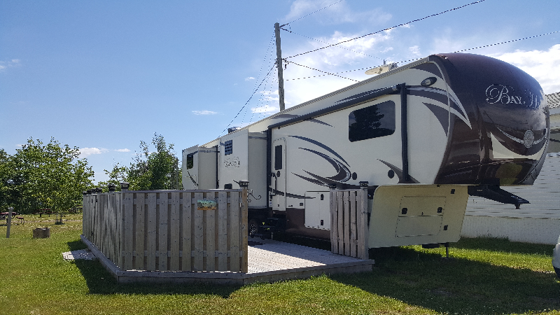 Caravane à sellette Evergreen RV  2014 à vendre