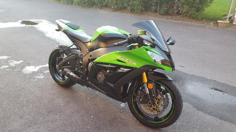 Moto sport Kawasaki Ninja ZX-10R ABS 2014 à vendre