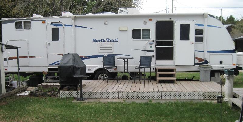 Roulotte Heartland North Trail 2012 à vendre