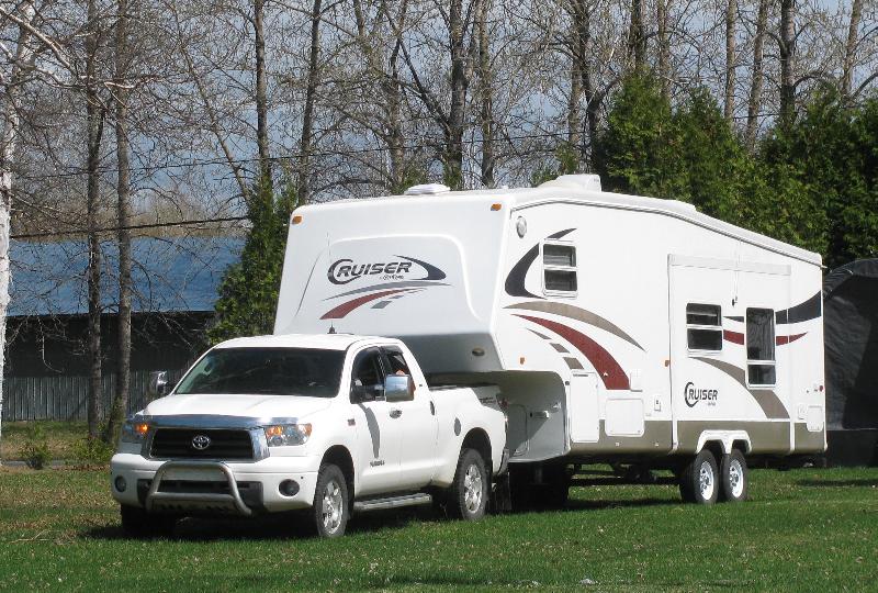 Caravane à sellette Crossroads RV Cruiser 2004 à vendre