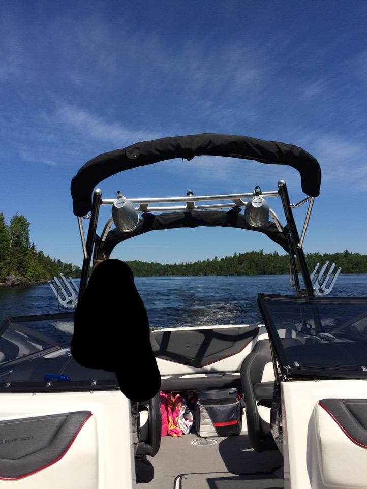 Bateau Wake-Ski Larson LSR 2013 à vendre
