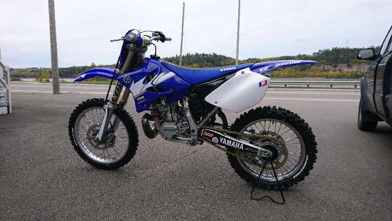 Motocross Yamaha YZ250 2007 à vendre