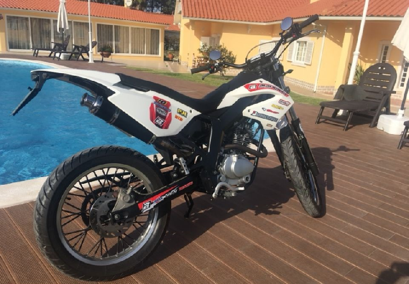 Motocross Derbi  2008 à vendre